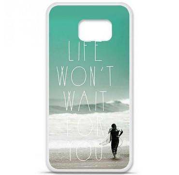 Coque en silicone pour Samsung Galaxy S6 - Surfer