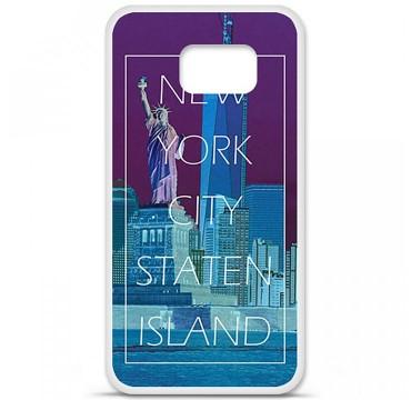 Coque en silicone Samsung Galaxy S6 - New york