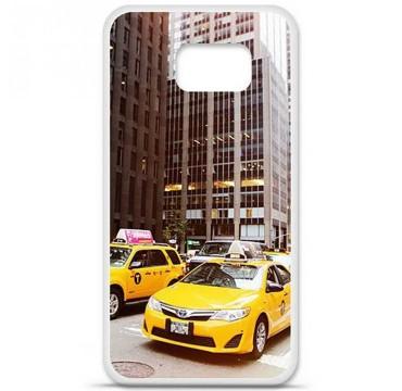 Coque en silicone pour Samsung Galaxy S6 - NY Taxi