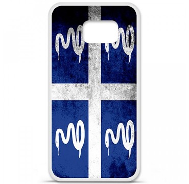 Coque en silicone Samsung Galaxy S6 - Drapeau Martinique