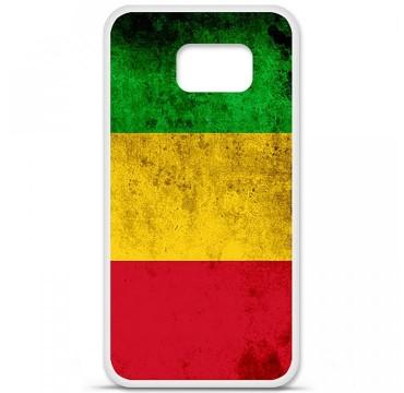 Coque en silicone pour Samsung Galaxy S6 - Drapeau Mali