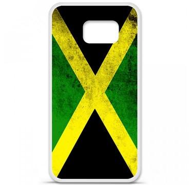 Coque en silicone Samsung Galaxy S6 - Drapeau Jamaïque