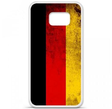 Coque en silicone pour Samsung Galaxy S6 - Drapeau Allemagne