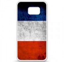 Coque en silicone Samsung Galaxy S6 - Drapeau France
