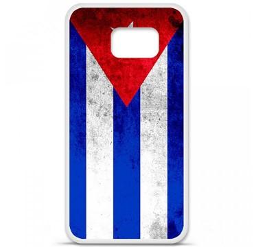 Coque en silicone pour Samsung Galaxy S6 - Drapeau Cuba