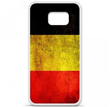 Coque en silicone pour Samsung Galaxy S6 - Drapeau Belgique