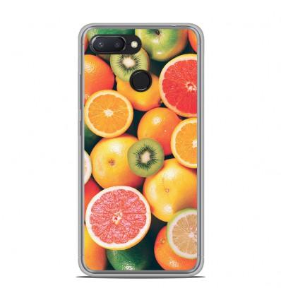 Coque en silicone Xiaomi RedMi 6 - Fruits