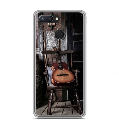 Coque en silicone Xiaomi RedMi 6 - Guitare