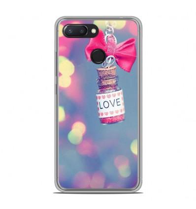 Coque en silicone Xiaomi RedMi 6 - Love noeud rose