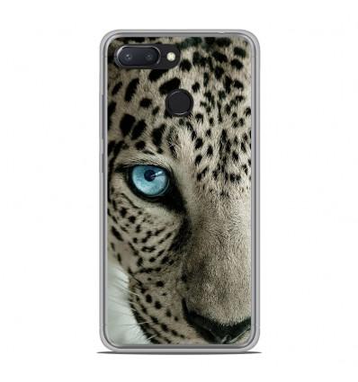 Coque en silicone Xiaomi RedMi 6 - Oeil de léopard