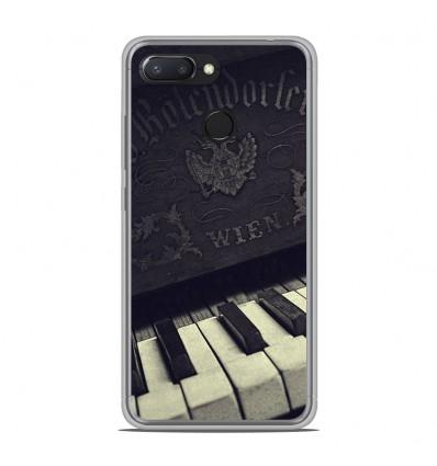Coque en silicone Xiaomi RedMi 6 - Old piano