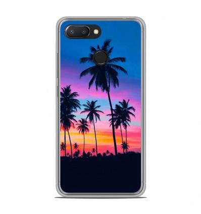 Coque en silicone Xiaomi RedMi 6 - Palmiers colorés