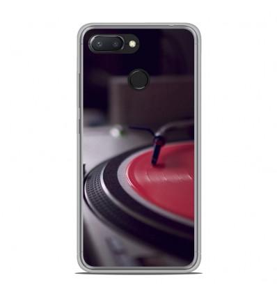 Coque en silicone Xiaomi RedMi 6 - Platine