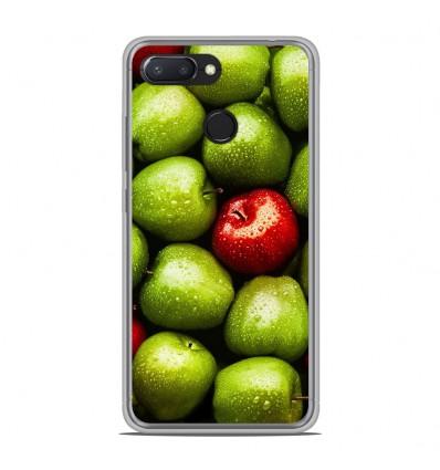 Coque en silicone Xiaomi RedMi 6 - Pommes