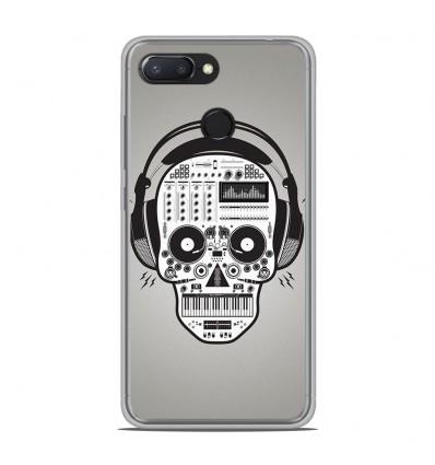 Coque en silicone Xiaomi RedMi 6 - Skull Music