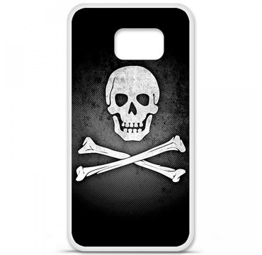 Coque en silicone Samsung Galaxy S6 - Drapeau Pirate