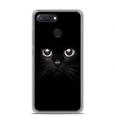 Coque en silicone Xiaomi RedMi 6 - Yeux de chat