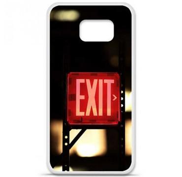 Coque en silicone pour Samsung Galaxy S6 - Exit