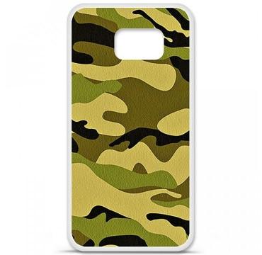 Coque en silicone Samsung Galaxy S6 - Camouflage
