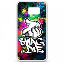 Coque en silicone Samsung Galaxy S6 - Swag or die
