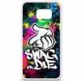 Coque en silicone Samsung Galaxy S6 - Swag or die