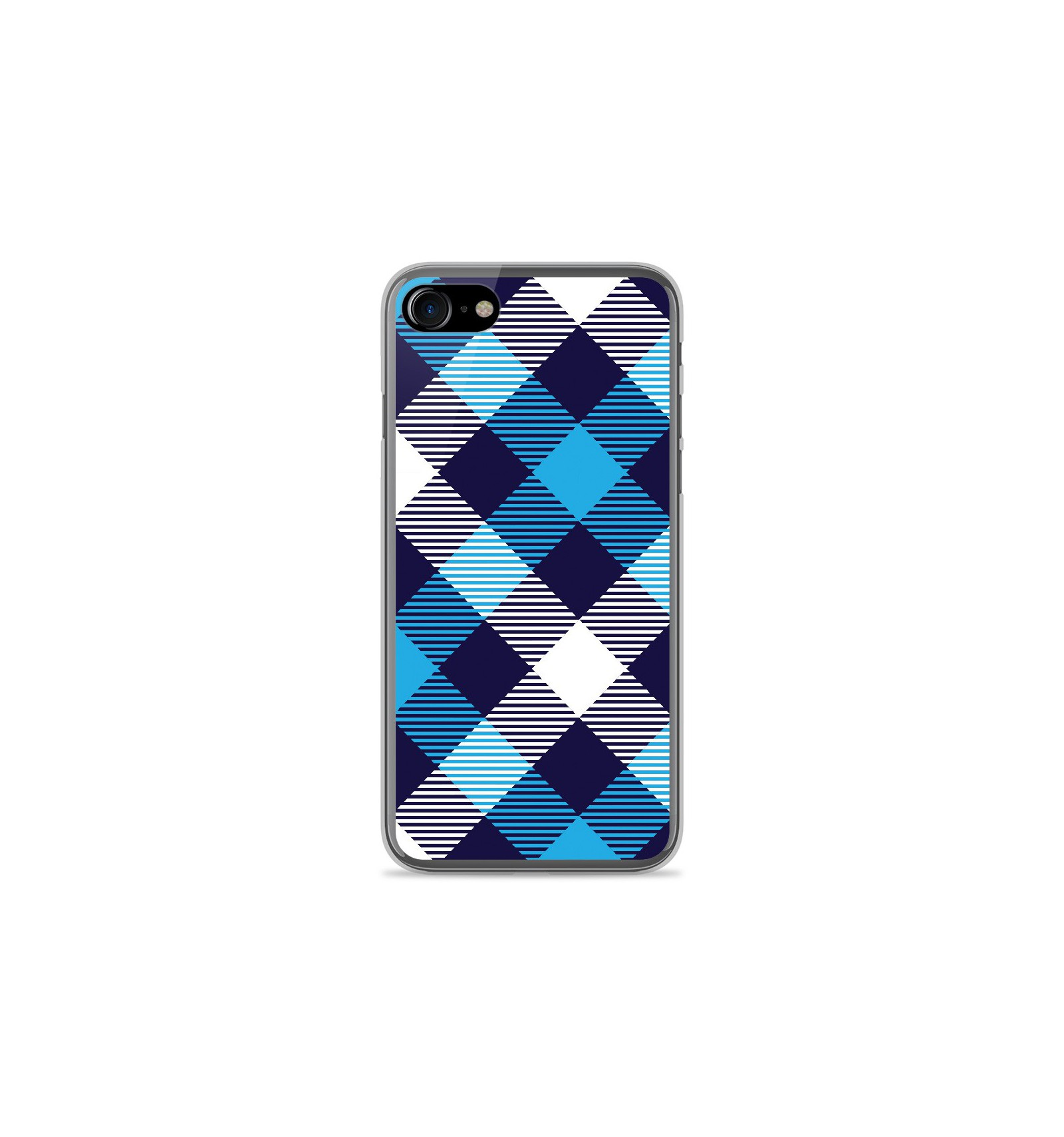 coque iphone 8 plus apple bleu