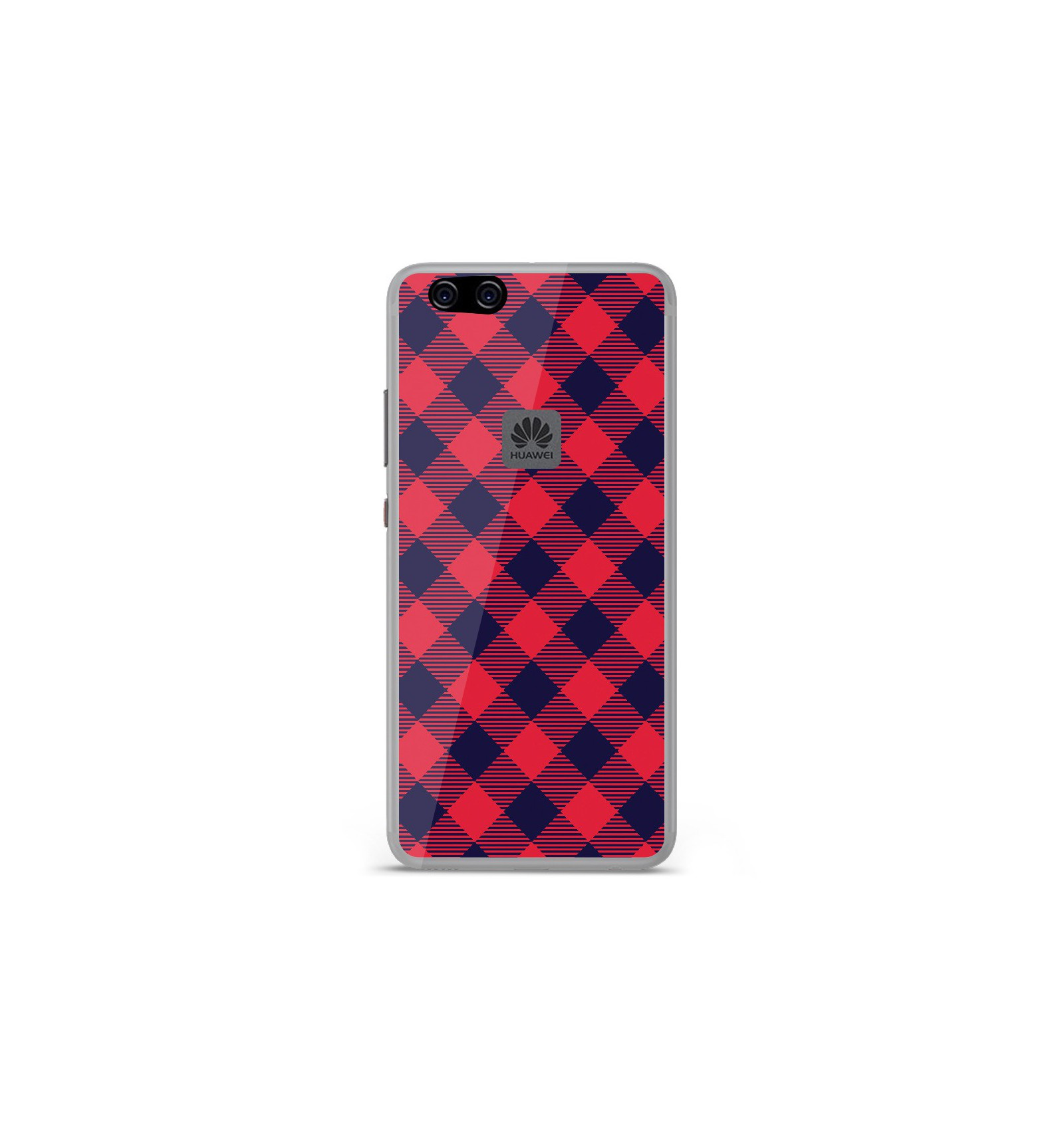 coque huawei p10 lite silicone rouge