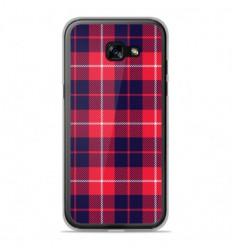 Coque en silicone Samsung Galaxy A5 2017 - Tartan Rouge 2