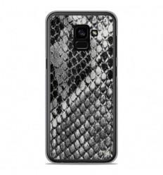Coque en silicone Samsung Galaxy A8 2018 - Texture Python