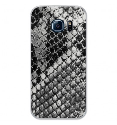Coque en silicone Samsung Galaxy S7 - Texture Python