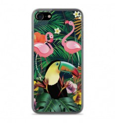Coque en silicone Apple IPhone 7 - Tropical Toucan