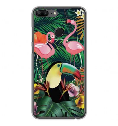 Coque en silicone Huawei Honor 9 Lite - Tropical Toucan