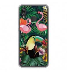 Coque en silicone Huawei P20 Lite - Tropical Toucan