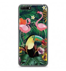 Coque en silicone Huawei Y6 2018 - Tropical Toucan