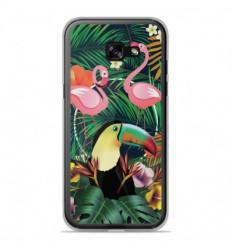 Coque en silicone Samsung Galaxy A3 2017 - Tropical Toucan
