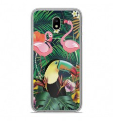 Coque en silicone Samsung Galaxy J3 2017 - Tropical Toucan