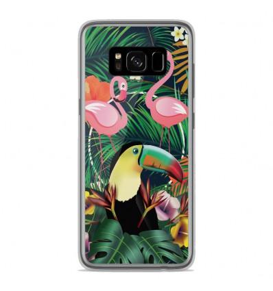 Coque en silicone Samsung Galaxy S8 - Tropical Toucan