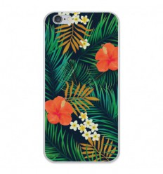 Coque en silicone Apple iPhone 6 / 6S - Tropical