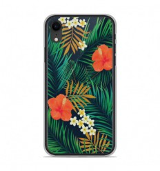 Coque en silicone Apple iPhone XR - Tropical