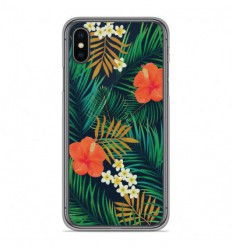 Coque en silicone Apple iPhone XS Max - Tropical