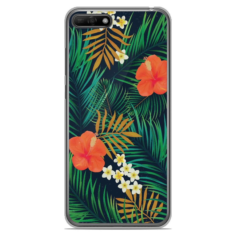 coque huawei y6 2018 tropical