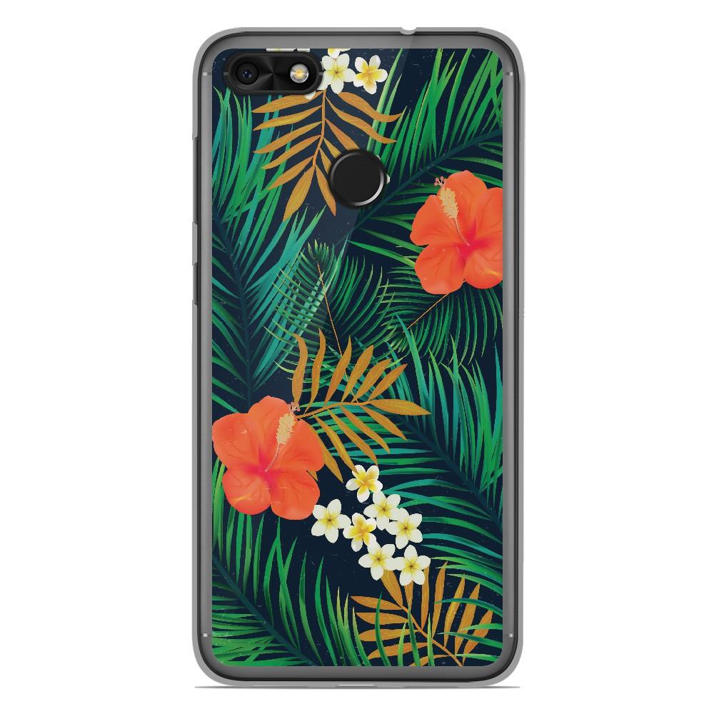 Coque en silicone Huawei Y6 Pro 2017 - Tropical