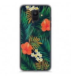 Coque en silicone Samsung Galaxy A6 2018 - Tropical