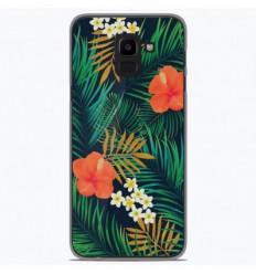 Coque en silicone Samsung Galaxy J6 2018 - Tropical