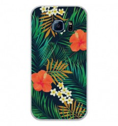 Coque en silicone Samsung Galaxy S7 - Tropical