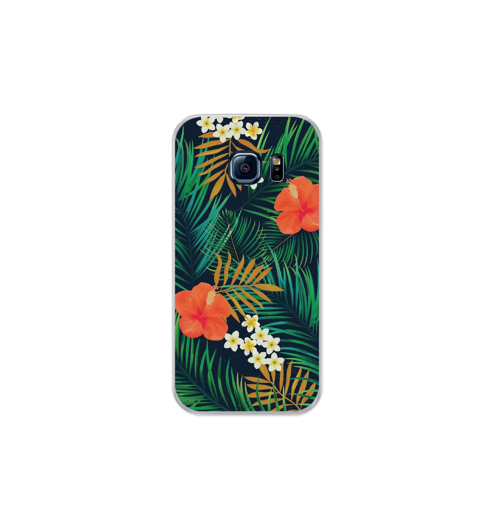 Coque en silicone Samsung Galaxy S7 - Tropical