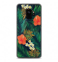 Coque en silicone Samsung Galaxy S9 - Tropical