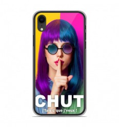 Coque en silicone Apple iPhone XR - Chut