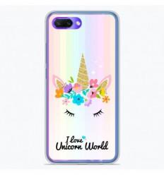 Coque en silicone Huawei Honor 10 - Unicorn World