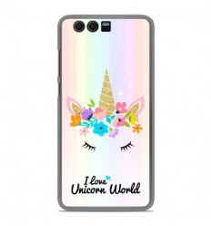 Coque en silicone Huawei Honor 9 - Unicorn World